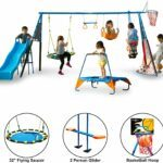 fitness reality kids the ultimate 8 station sports series swing set
