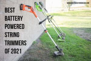 best battery powered string trimmers 2021