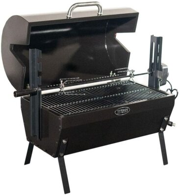 Titan Great Outdoors Small Rotisserie Grill